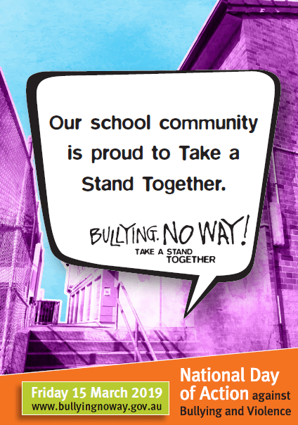 National Day Against Bullying Campbell Primary School