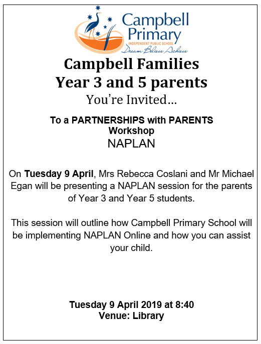 NAPLAN Campbell Primary School