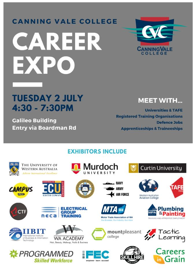 Canning Vale College Career Expo