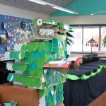 Dinosaurs in the Campbell Primary School Library