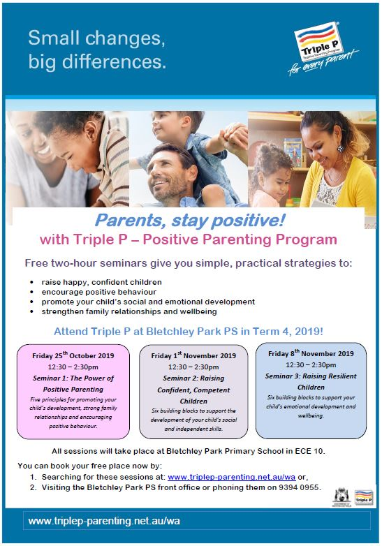Triple P Parenting Workshops