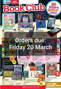 Book Club 20 March Campbell PS