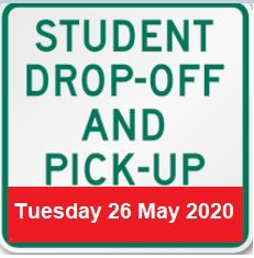 Student Drop off and Pickup
