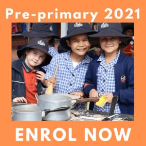 Pre-primary Enrolments 2021