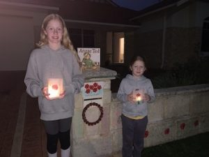 Campbell Primary Students Driveway Anzac