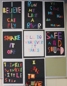Campbell Primary Collage Art