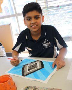 Noongar Seasons Year 6 Art Campbell PS