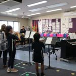 Campbell PS Musical Rehersal