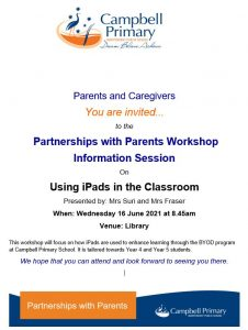 Campbell Primary Using iPads in the Classroom