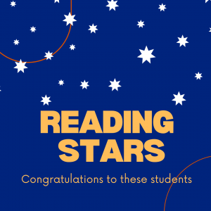 Campbell Primary School Reading Stars